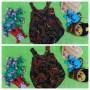 Foto Utama dress baju pesta batik balon yukensi anak bayi perempuan 0-9bulan motif burung merak