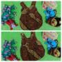 Foto Utama dress baju pesta batik balon yukensi anak bayi perempuan 0-9bulan motif parang suluran