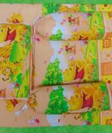 PALING MURAH kado bayi set kasur bayi karakter Winnie The Pooh plus bantal dan guling Kuning