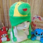 Topi bayi baby hat karakter kodok keroppi lucu