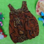 dress baju pesta batik balon yukensi anak bayi perempuan 0-9bulan motif gapura klasik