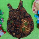 dress baju pesta batik balon yukensi anak bayi perempuan 0-9bulan motif kawung kembangan