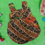 dress baju pesta batik balon yukensi anak bayi perempuan 0-9bulan motif parang kembang cantik