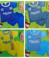 foto utama Setelan Baju Bola Bayi 0-12bulan FC Barcelona