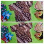foto utama baju batik bayi anak laki-laki kemeja batik bayi hem anak cowok uk 0-2th baju pesta motif Parang Sulur Kembang