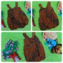 foto utama dress baju pesta batik balon yukensi anak bayi perempuan 0-9bulan motif suluran klasik