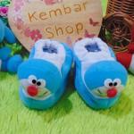 kado bayi baby gift set sepatu prewalker alas kaki newborn 0-6bulan lembut motif doraemon
