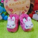 kado bayi baby gift set sepatu prewalker alas kaki newborn 0-6bulan lembut motif kelinci syantik