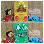 FREE KARTU UCAPAN paket kado box bayi newborn cowok laki-laki baby gift hadiah lahiran karakter Kartun Lucu