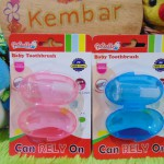 Baby Toothbrush Sikat Gigi dan Lidah bayi Plus wadah Reliable