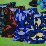 Baju bayi perempuan cewek 0-6bulan dress ARMY tentara