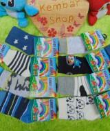 Beli 1 gratis 1 kaos kaki bayi 0-12bulan baby sock aneka motif Baby BOY