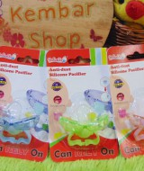 Empeng Bayi Anti Kotor Anti Dust Silicon Pacifier