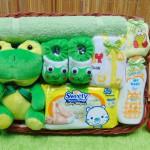 Foto Utama TERLARIS paket kado bayi baby gift parcel bayi parcel kado bayi kado lahiran Kotak Spesial Karakter Disney Keroppi