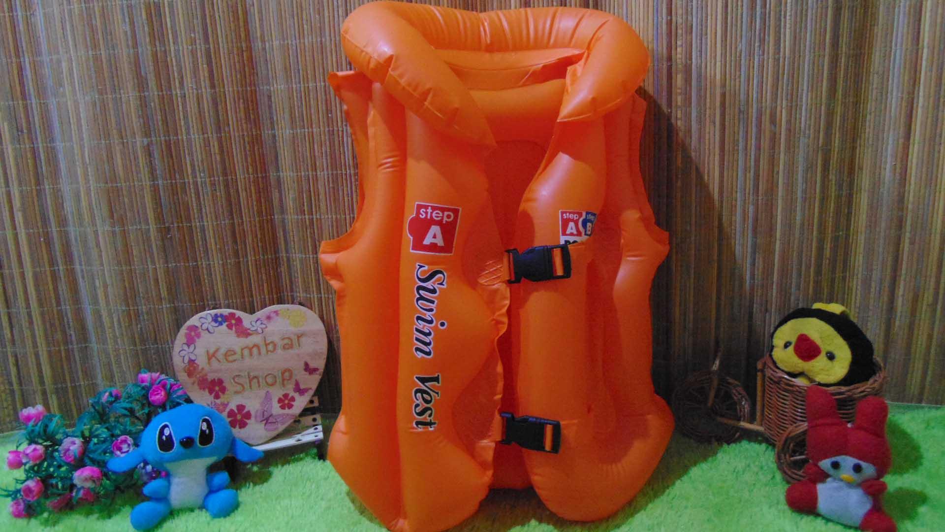 Pelampung rompi renang anak balita TK SD 5-8tahun swimvest size A Murah (3)