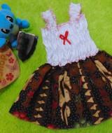TERLARIS dress baju bayi perempuan cewek 0-12bulan super cute batik-101