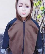 TERMURAH jaket basket hoodie jumper anak bayi PAUD 2-4tahun COKELAT tebal lembut