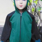 TERMURAH jaket basket hoodie jumper anak bayi PAUD TK 3-5th tebal lembut Hijau
