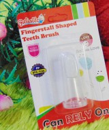 TERMURAH sikat lidah gigi bayi fingerstall Shaped teeth brush