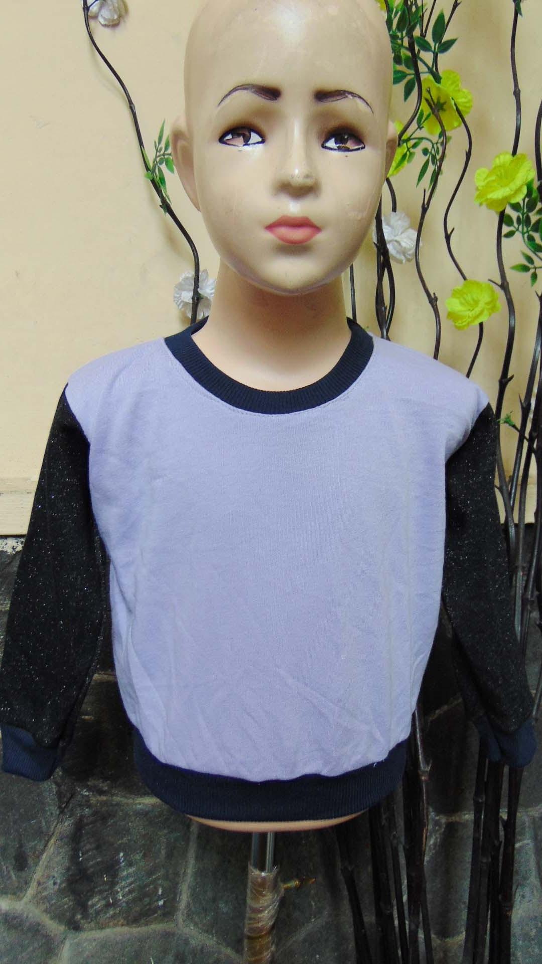 TERMURAH sweater anak bayi 0-12bln tebal lembut Aneka Motif UNGU (3)