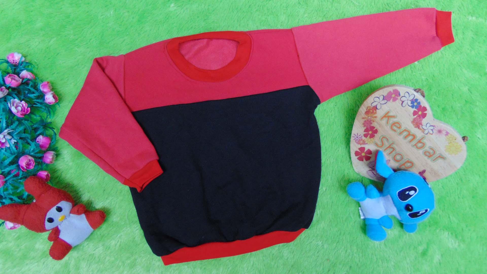 TERMURAH sweater anak bayi 0-12bln tebal lembut Aneka Motif dan Warna A (4)