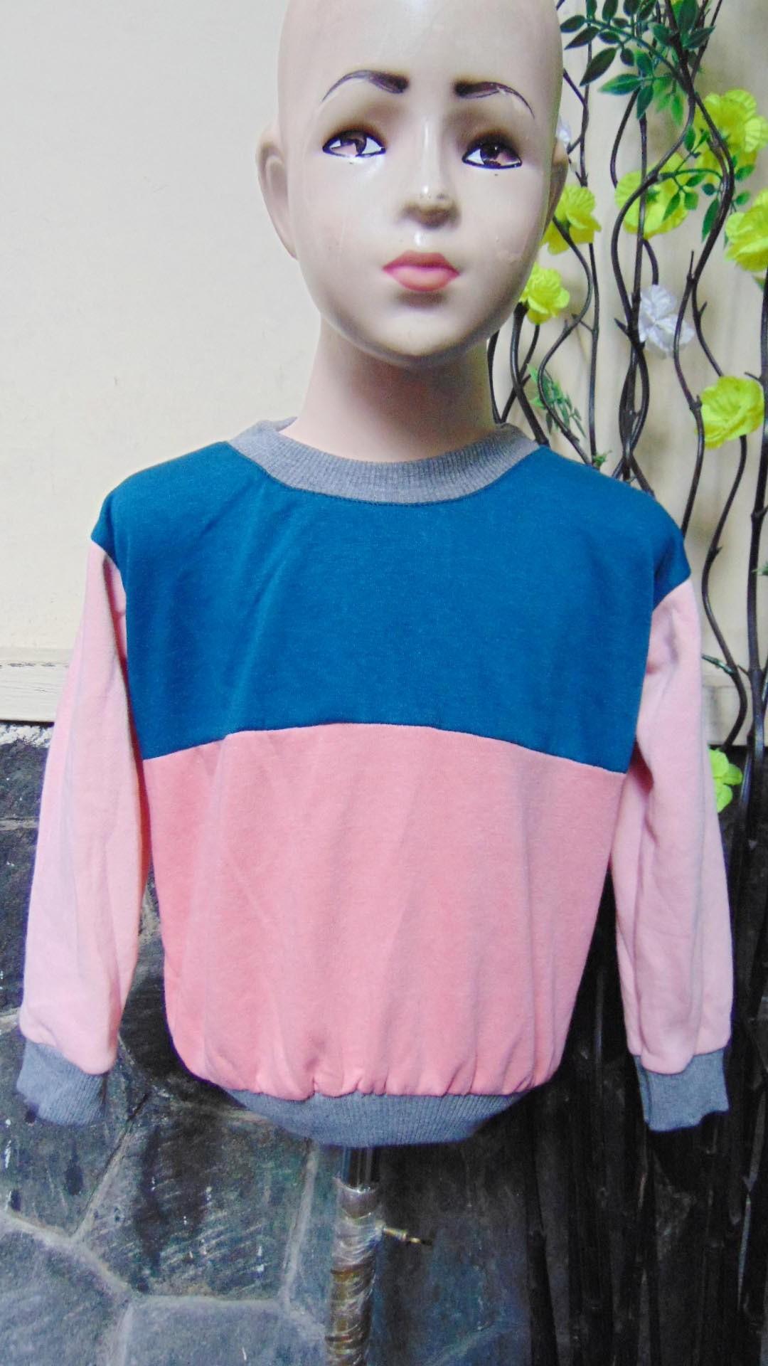TERMURAH sweater anak bayi 6-18bln tebal lembut Aneka Motif Dwi Warna A (3)