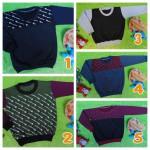 foto utaam TERMURAH sweater anak bayi 6-18bln tebal lembut Aneka Motif dan Warna