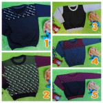 TERMURAH sweater anak bayi 6-18bln tebal lembut Aneka Motif dan Warna A