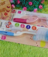 foto utama Paket Hemat Sikat botol bayi 2in1 tebal reliable Bottle and Nipple Brush
