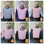 TERMURAH sweater anak bayi 0-12bln tebal lembut Aneka Motif Soft Peach