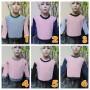 foto utama TERMURAH sweater anak bayi 0-12bln tebal lembut Aneka Motif Soft Peach