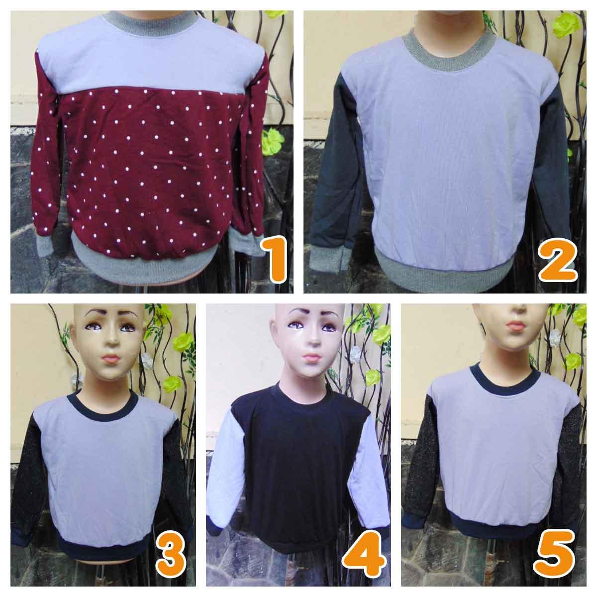 foto utama TERMURAH sweater anak bayi 0-12bln tebal lembut Aneka Motif UNGU
