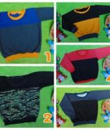 foto utama TERMURAH sweater anak bayi 0-12bln tebal lembut Aneka Motif dan Warna A