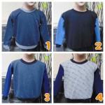 TERMURAH sweater anak bayi 6-18bln tebal lembut Aneka Motif B