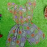 jumpsuit batik bayi 6-18bulan motif godhong ceplok 2