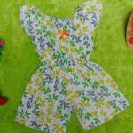 jumpsuit batik bayi 6-18bulan motif godhong ijo royo royo