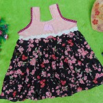 Dress Baju Anak Bayi Cewek Perempuan 0-12bulan Alisa sakura pink