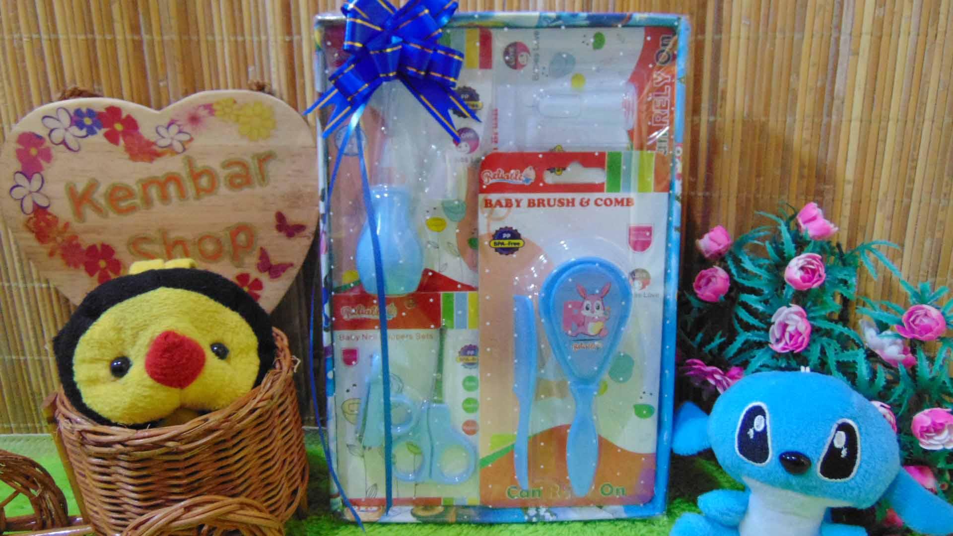 FREE KARTU UCAPAN Kado Lahiran Paket Kado Bayi Newborn Baby Gift Box Full Package Perawatan bayi
