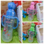 Feeding Bottle peristaltic nipple Reliable Botol dot karakter Teddy Bear lucu Aneka Warna