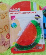 Gigitan bayi reliable water filled teether buah semangka
