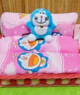 TERLARIS EKSKLUSIF paket kado bayi baby gift parcel bayi parcel kado bayi kado lahiran set bantal dan guling Doraemon