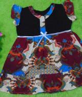 dress batik cewek baju batik bayi perempuan 0-12bulan pita lengan sayap motif batik awan 25,lebar dada 30cm ,panjang baju 48cm,bahan adem lembut, ada kancing hidup, cocok utk harian