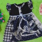 dress batik cewek baju batik bayi perempuan 0-12bulan pita lengan sayap motif wayang 25,lebar dada 29cm ,panjang baju 46cm,bahan adem lembut, ada kancing hidup, cocok utk harian