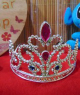foto utama Bando mahkota bayi Bando Princess Kerajaan Putri Ratu bando anak 3-6th cantik
