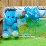 foto utama TERLARIS paket kado bayi baby gift parcel bayi parcel kado bayi kado lahiran Kotak spesial towel handuk full package Aneka Warna