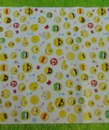 sampul kado bayi kertas kado lahiran baby gift motif Emoji Lucu