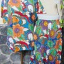Baju Santai Setelan Piyama Babydoll Batik Kulot Motif floral paint Busui Friendly Kualitas Juara