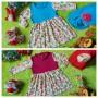 FOTO UTAMA EKSKLUSIF Paket Gamis Baju Muslim Anak Bayi Perempuan plus Jilbab dan Sepatu Boots Bayi Bunga Cantik 0-12bulan Aneka Warna