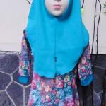 PALING MURAH Baju Muslim Gamis Aira Anak Bayi Perempuan 6-18bulan Plus Hijab Aesthetic Flowers