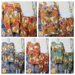 Baju Santai Setelan Piyama Babydoll Batik Kulot L4 Jumbo Motif burung klasik Busui Friendly Kualitas Juara